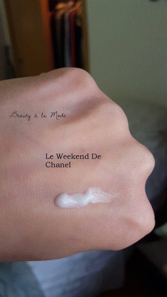 Chanel Skincare Le Weekend De Chanel Review
