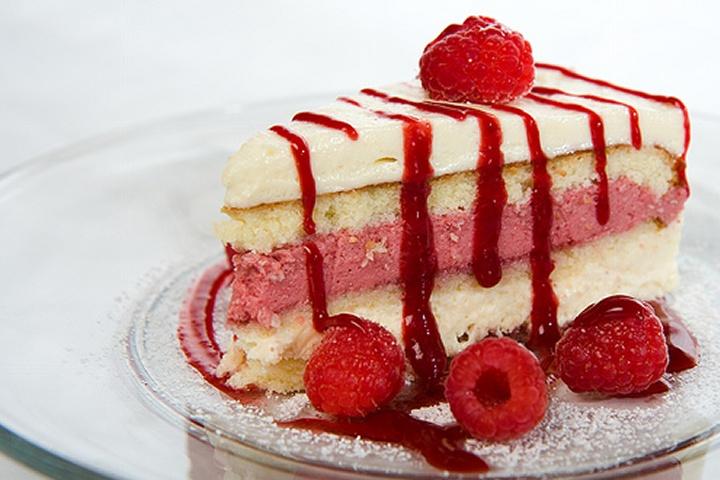 Gâteau Mousse Aux Framboises   – Recipes – Cakes