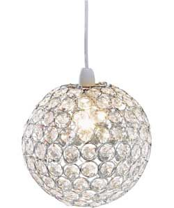 Buy Living Clear Crystal Globe Light Shade at Argos.co.uk - Your Online  Shop for Lamp shades.