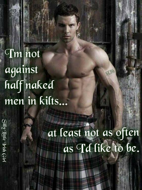 heiße schottische Jungs