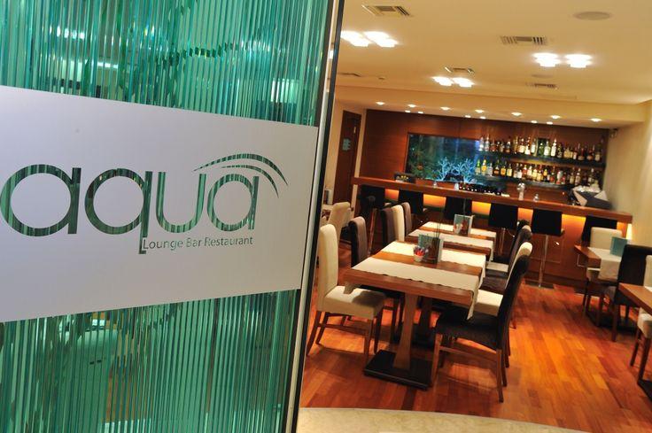 Aqua lounge bar restaurant