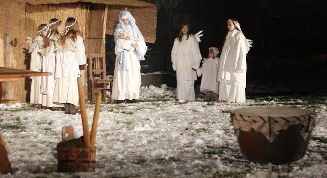 Vánoční řemeslné trhy i s živým betlémem