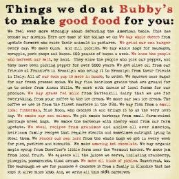 Love Bubby's