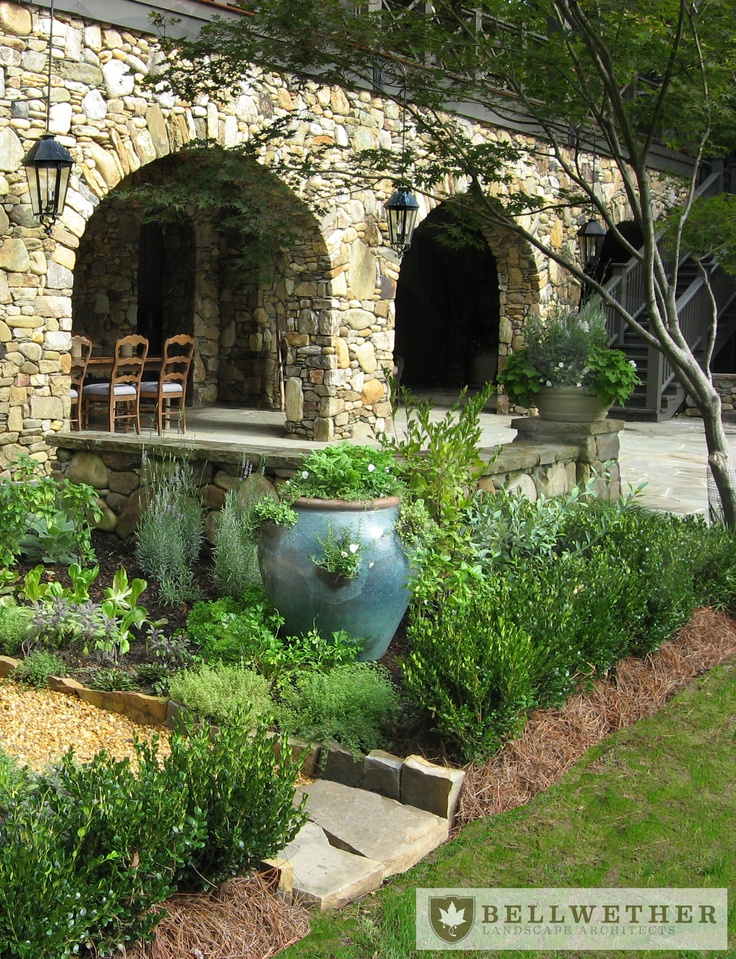 Tuscan Inspired Details Bellwether :: Landscape Architects In Atlanta, ...