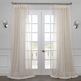 ceiling track for curtains bedroom exclusive fabrics linen open weave cream sheer curtain panel 50