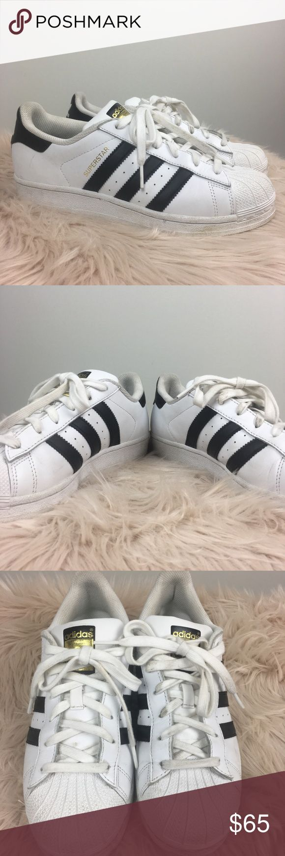 Adidas Superstar Original Adidas Superstar Original. Size 7.5. Sneakers Have Been Worn. Great Used Condition. Gold Foil Detail. Run A bit Larger In My Opinion. Must Have Sneaker!! Adidas Shoes Sneakers