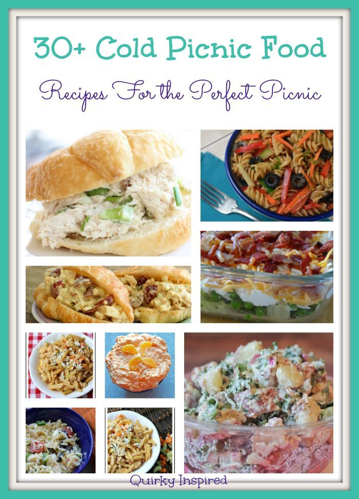 Best 25 beach picnic foods ideas on pinterest picnic ideas 30 cold picnic food recipes to rock your picnic forumfinder Images