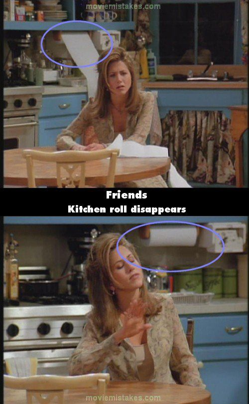 The Importance of Script Supervisor!! | The 20 biggest Friends mistake pictures