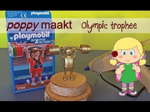 Poppy maakt… een Olympische Trofee. In deze instructie video zal ik je uitleggen hoe je deze een Olympische Trofee maakt. Veel plezier! Poppy makes… a Olympic Trohee. In this video tutorial I will explain how you can make this Olympic Trohee. Have fun! #PoppyMaakt #Olympics #Olympic #Trophee #Games #Spelen #Sport