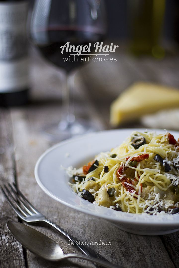Angel Hair Pasta with Artichokes