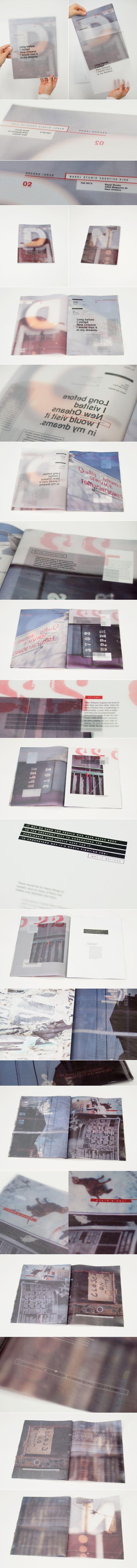 Basel Issue 02 by Liz Barnes, via Behance