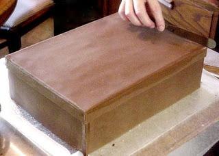 Tutorials: How to make a Shoe Box Cake