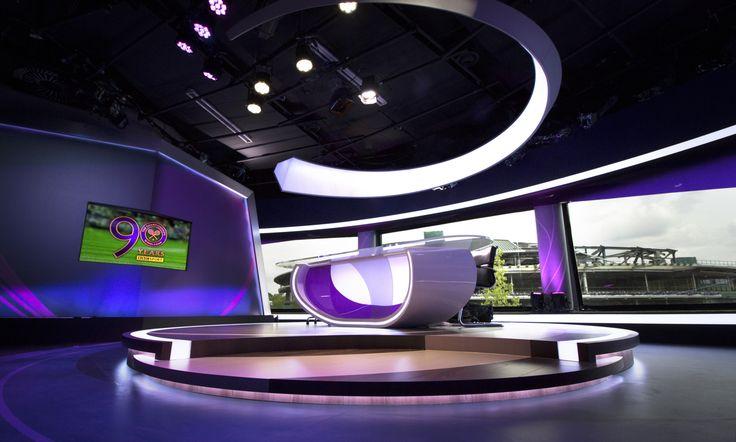 BBC Wimbledon TV Studio Set Design Gallery