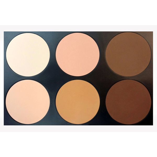 Perfect for contouring, this 6 colored set makes for a make up bag must have.