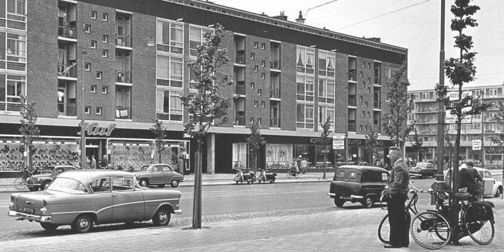 Burgermeester Vlugtlaan Amsterdam (jaartal: 1950 tot 1960) - Foto's SERC