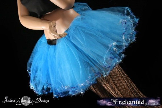 Turquoise Fairy Adult rave tutuYou Choose Size by SistersEnchanted, $45.00