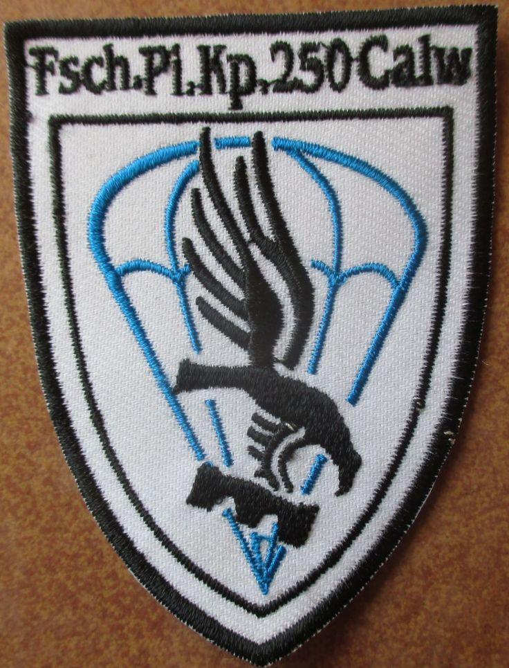 Fallschirmjägerpionierkompanie 250 Calw Verbandsabzeichen Patch Para Airborne