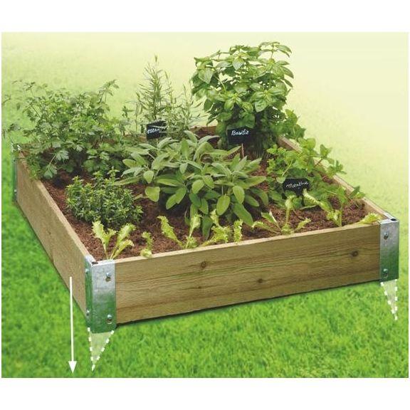 carré potager à planter http://www.hortik.com/carre-potager/1177-carres-de-jardin-a-planter-3273960203102.html