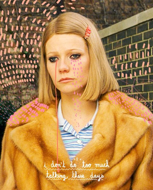 Margot, The royal tenenbaums. Gotta love Wes Anderson movies.