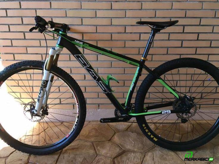 Bicicleta Bas Nine,  Cuadro talla M, aerografiado, con garantía de por vida Suspensión ... en Villanueva de la Torre, Guadalajara