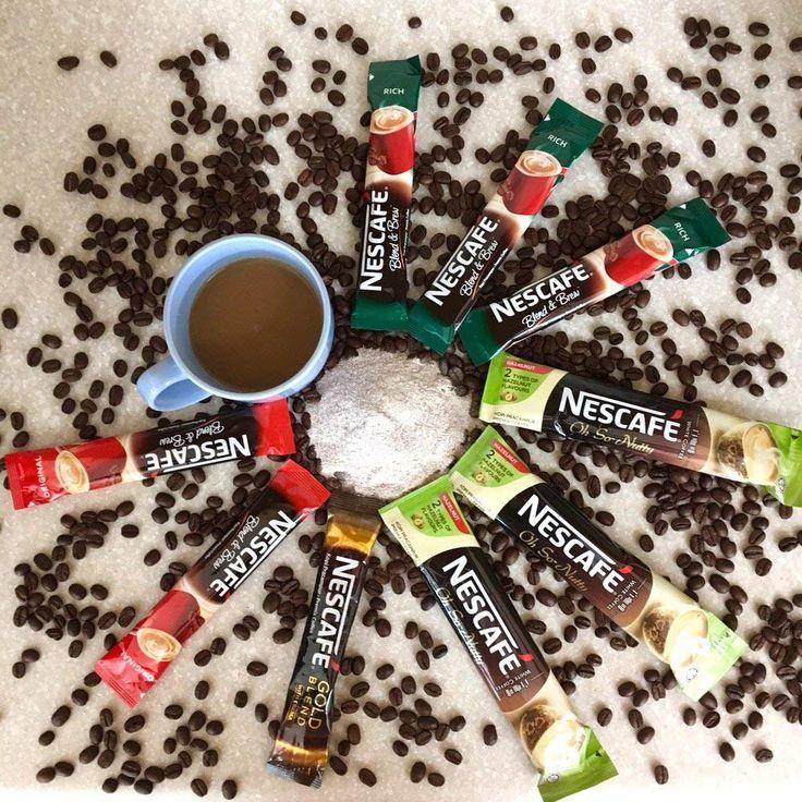 Nescafe 3in1 White Hazelnut Light roast coffee