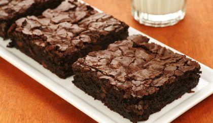 Brownies al cioccolato.. Ricordano la tenerina ferrarese.. Diminuire il burro rispetto alla ricetta, provare x credere!