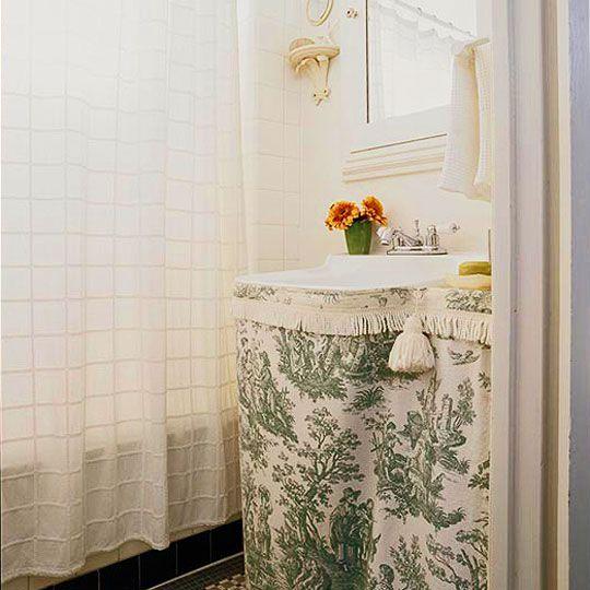Best 25 Bathroom Sink Skirt Ideas On Pinterest Utility