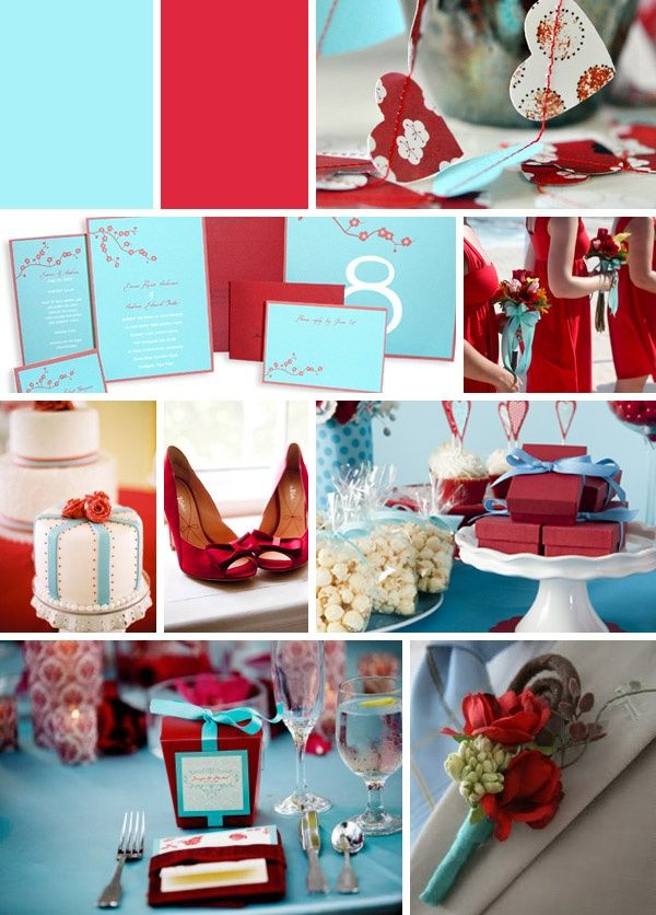 13 Best Red And Blue Wedding Ideas Images On Pinterest Blue Petit