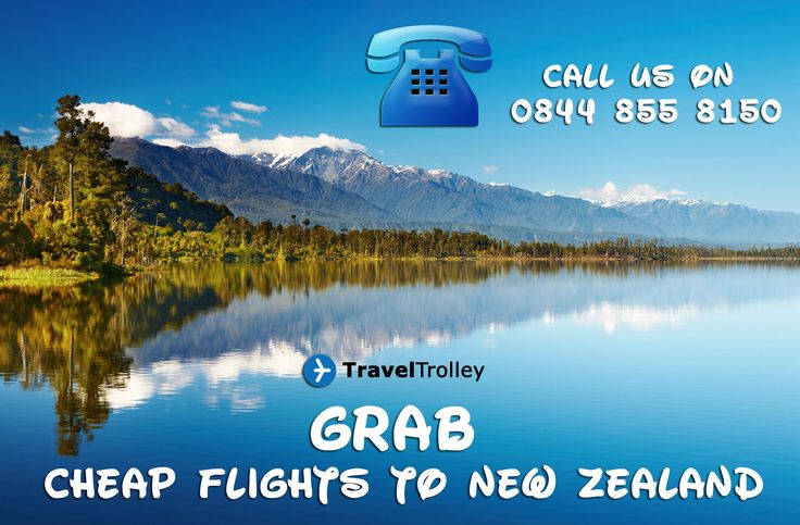 Cheap Flights to New Zealand from UK