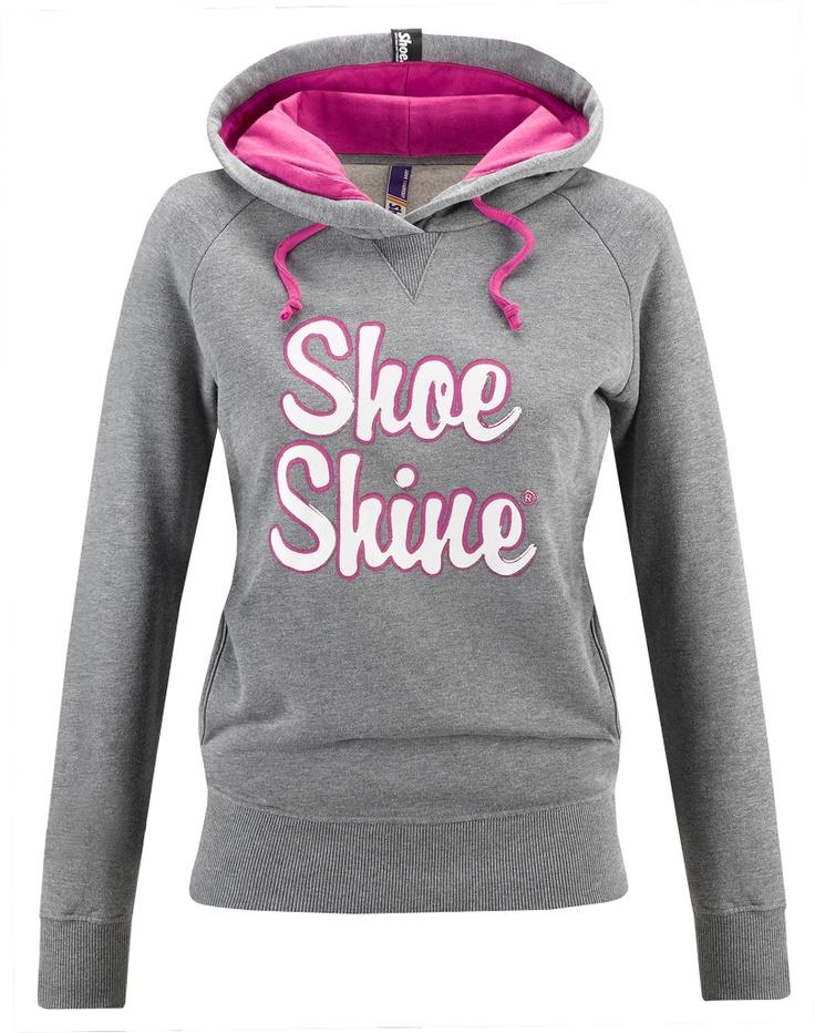 Felpa donna Shoeshine con stampa a pigmento ed interno cappuccio in contrasto.    Prezzo: 62,00€    SHOP ONLINE: http://www.aw-lab.com/shop/marche/shoeshine/felpa-shoeshine-9192085
