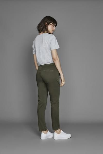 Selected Femme Sfingrid Mr 2 Tapered Chino Now available at atticwomenswear.com #SelectedFemme #Sfingrid