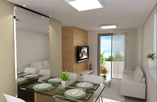 Fotos de pequenos apartamentos decorados decora o for Apartamentos decorados pequenos