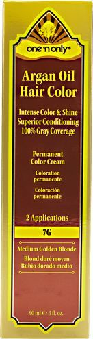 7G Medium Golden Blonde Permanent Cream Hair Color