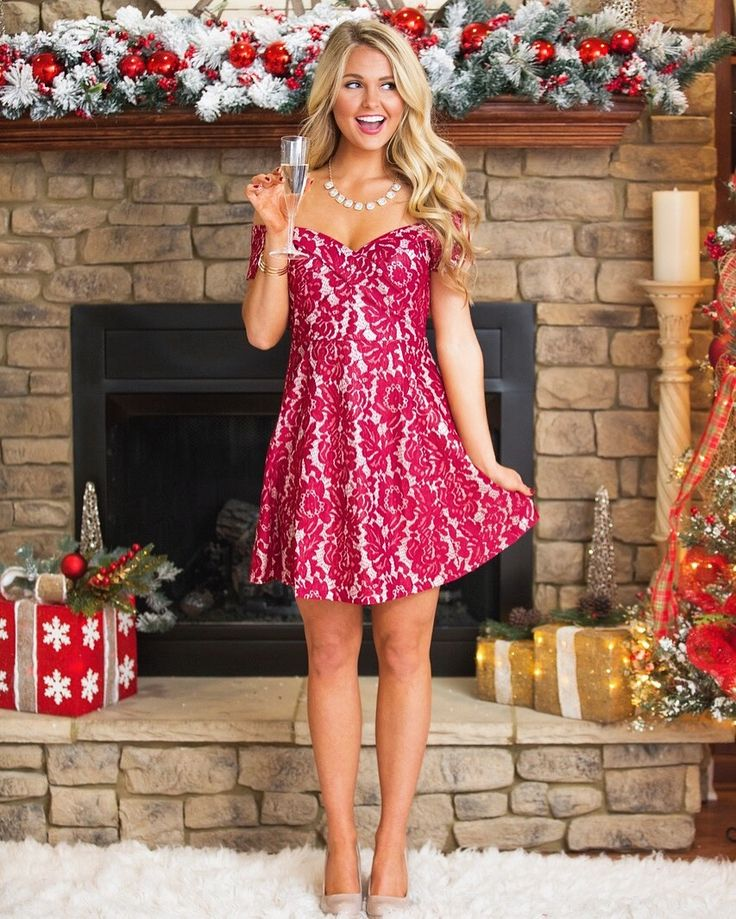 Holiday Looks at Pink Lily Boutique  Instagram: @SheaLeighMills