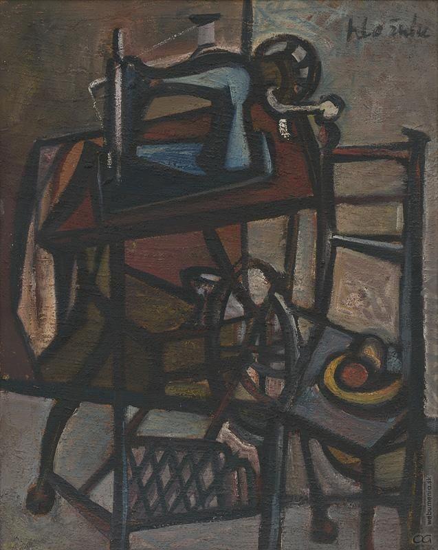 Vincent Hložník -  Šijací stroj, j1946