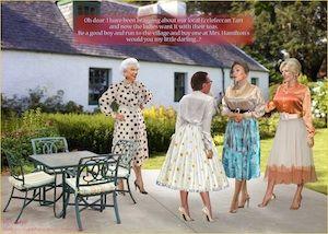Discipline husbands petticoat for