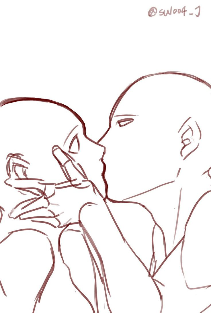 Anime Characters Kissing Drawing : Best images about manga bases on pinterest deviantart