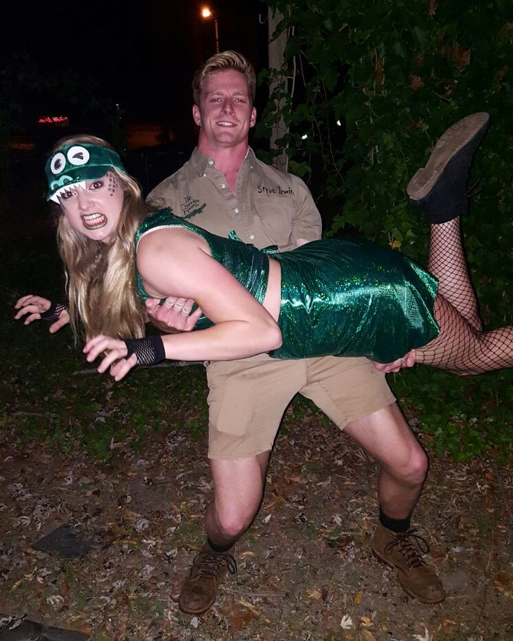 Crikey!! Conpletely DIY Steve Irwin and Crocodile costume. Was a HUGE hit!
