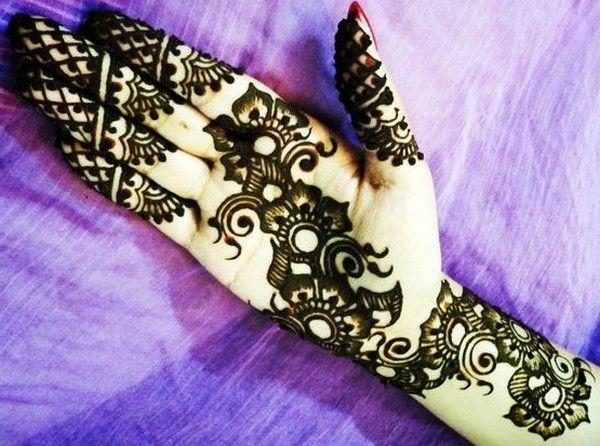Latest Arabic Mehndi Designs For Hands 2012