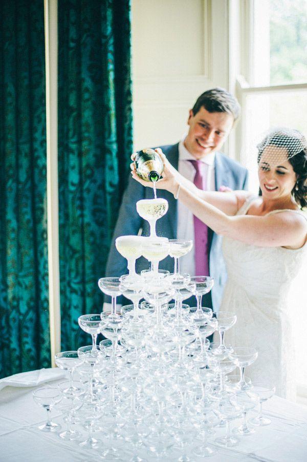 bride and groom celebrations
