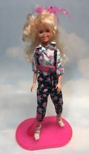 Jem and the Holograms ASHLEY doll clothes and stand vintage Hasbro 4211/4025