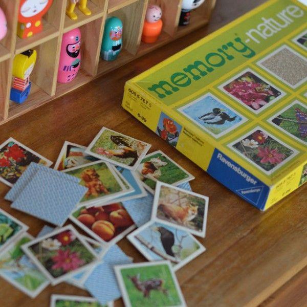 jeu memory nature Ravensburger  vintage- deco-graphic.com
