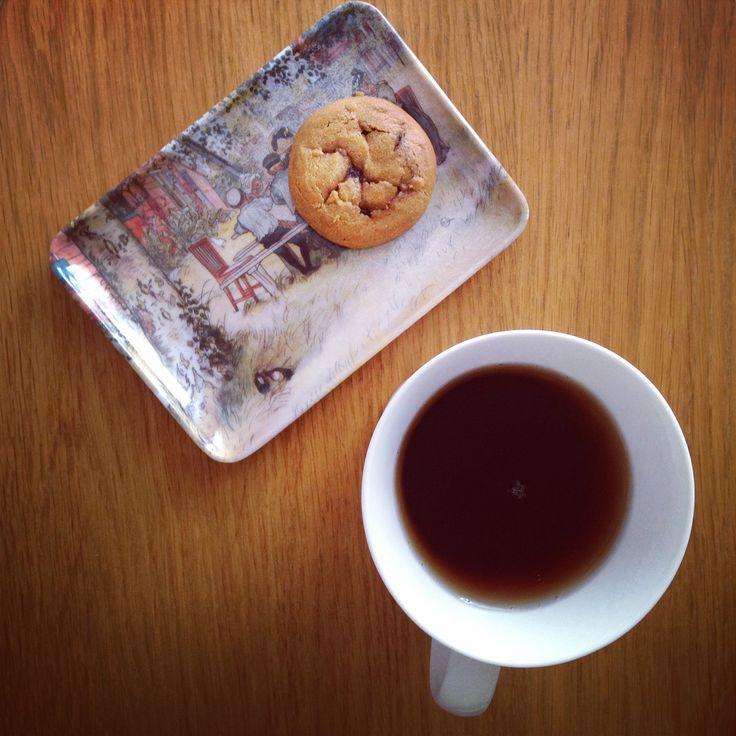 #office #tea #cookie #cozy