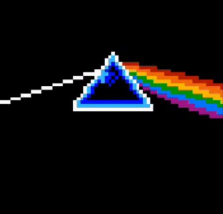 1 of 6 -Pink Floyd's Dark Side of the Moon in Bit Speak to Me / Breathe /  On the Run. Actually pretty fuckin cool