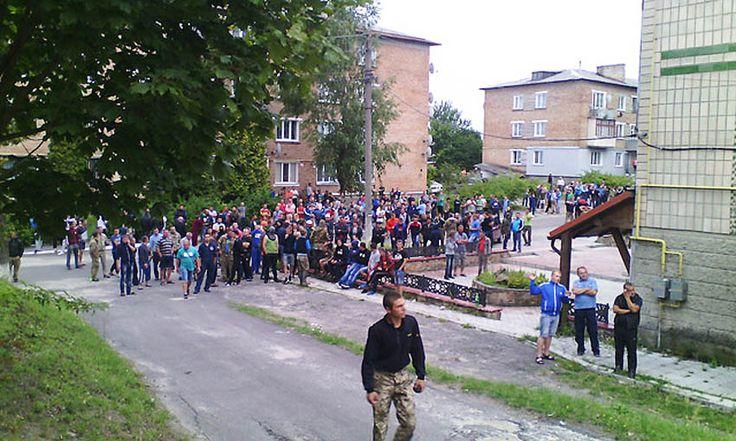 Le régime de #Porochenko a fait tirer sur des mineurs Ouest de l'#Ukraine