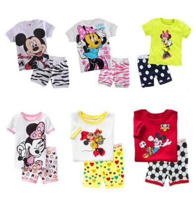 >> Click to Buy << 2017 2pcs Summer children Sets Cotton Character Green Yellow Newborn Shirt Shorts Brand Cheap Girl Clothes Suit For 2-7T Bebes #Affiliate