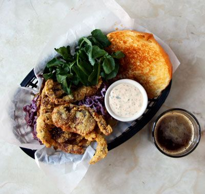 Softshell Crab Sandwiches with Rémoulade Slaw Recipe - Saveur.com