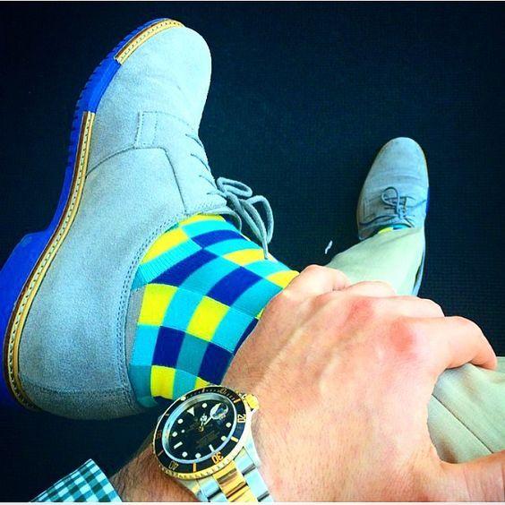 Colorful Socks for Men by Soxy Socks. The Best of footwear in 2017.