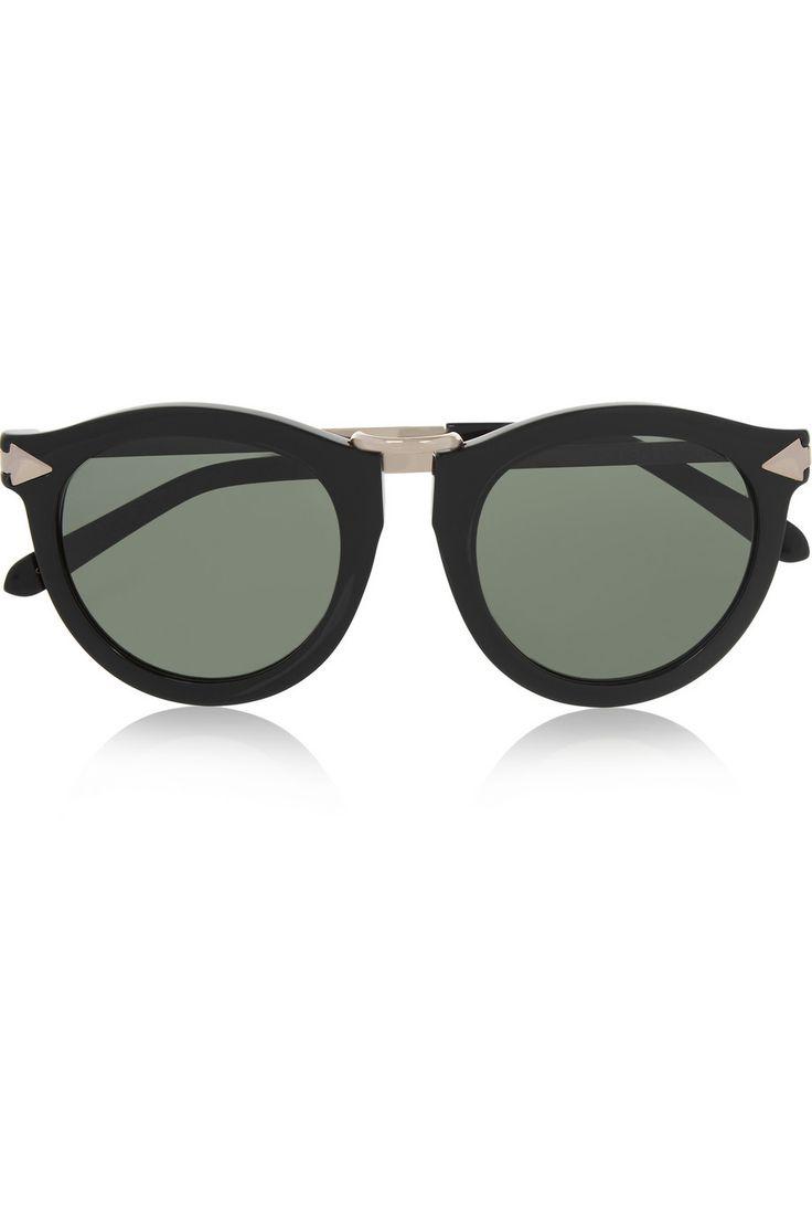 Karen Walker Harvest Superstars round-frame acetate sunglasses(=)