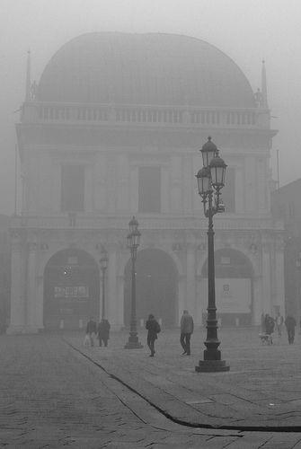 brescia - nebbia